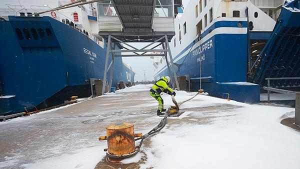 Ports of Stockholm steady in 2018