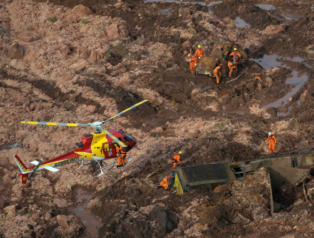 The Brumadinho disaster left over 300 people dead