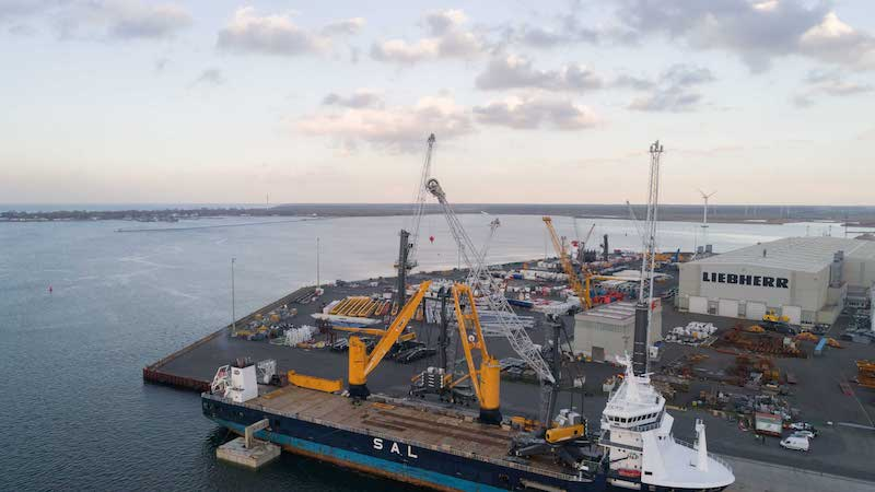 Liebherr reports strong year for mobile harbour cranes