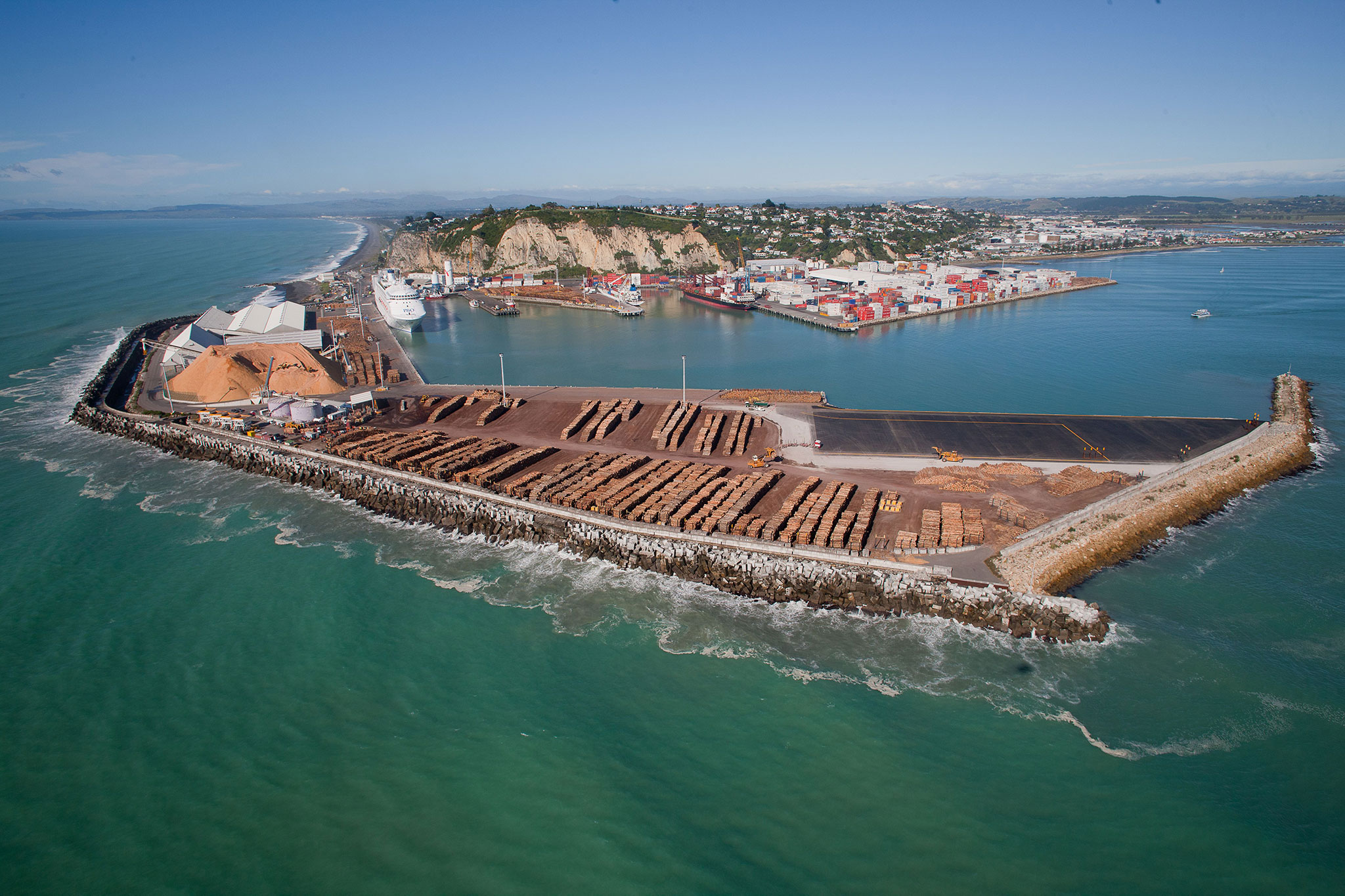 Successful listing for Napier Port
