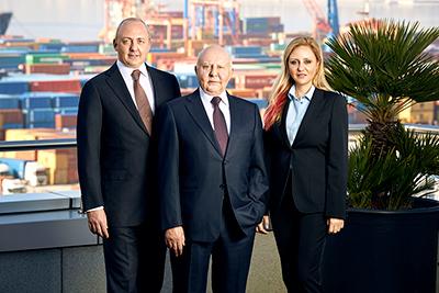 Bernard, Lucien and Diane Arkas.jpg