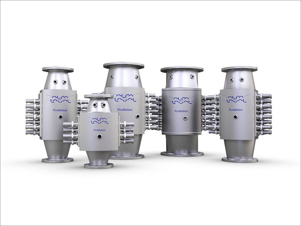 The Alfa Laval PureBallast 3 reactor family