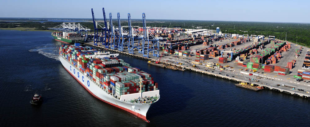The Port of Charleston is being deepened to service even bigger ships