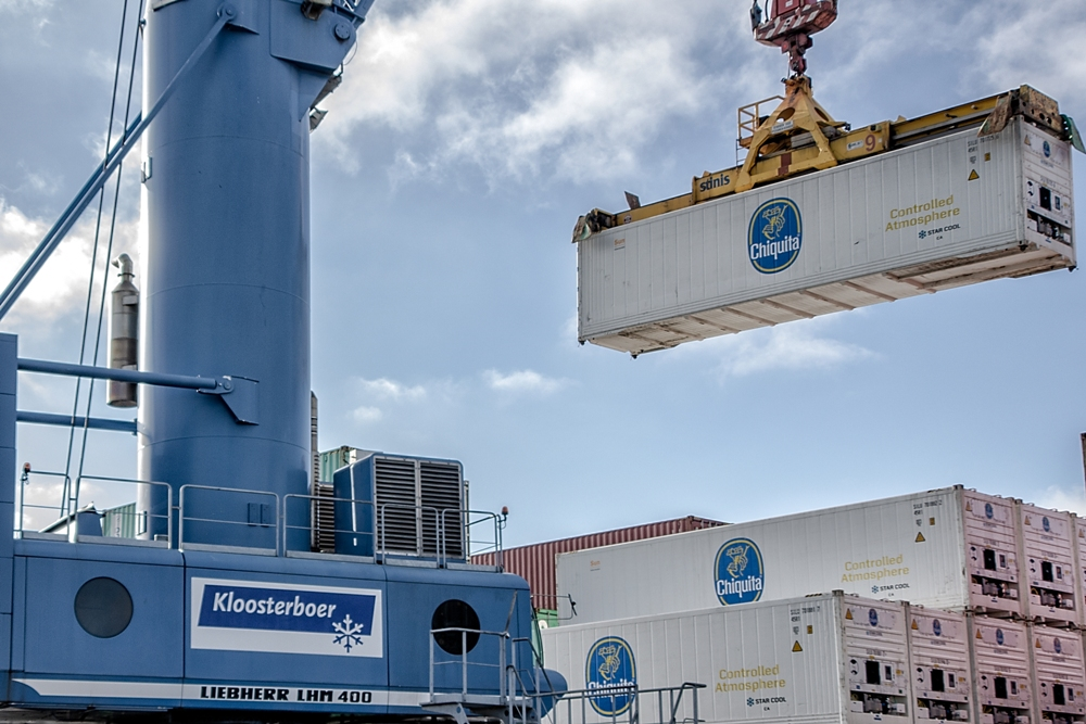 CHIQUITA TRADER made the first call in the revamped service in February. (Photo: Kloosterboer)