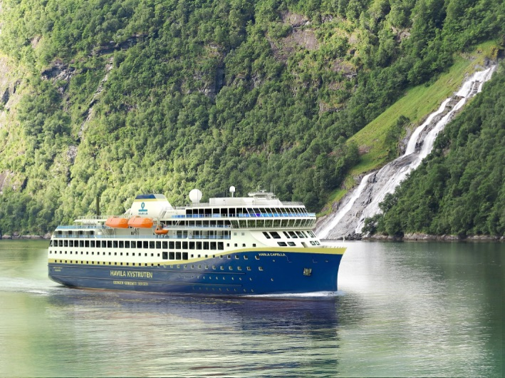 6.1 MW/h batteries for Havila Kystruten's hybrid cruise vessels