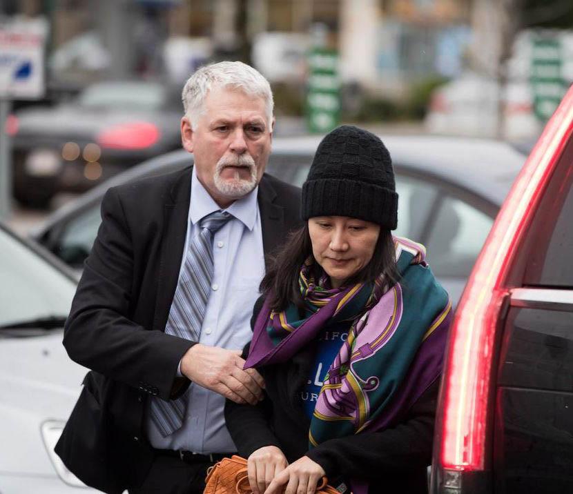 Huawei CFO Meng Wanzhou was arrested in Canada