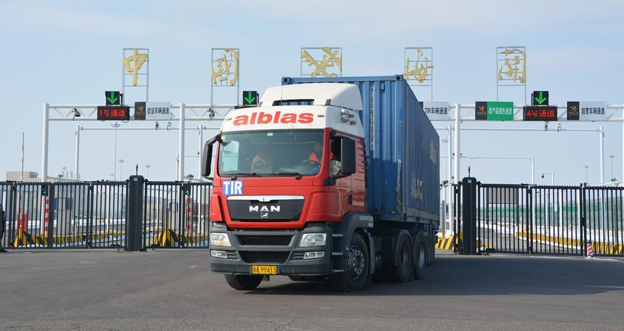 TIR Truck from Europe to China