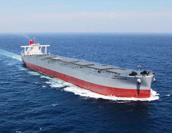 CAPE SAPPHIRE boosts K Line's bulker fleet