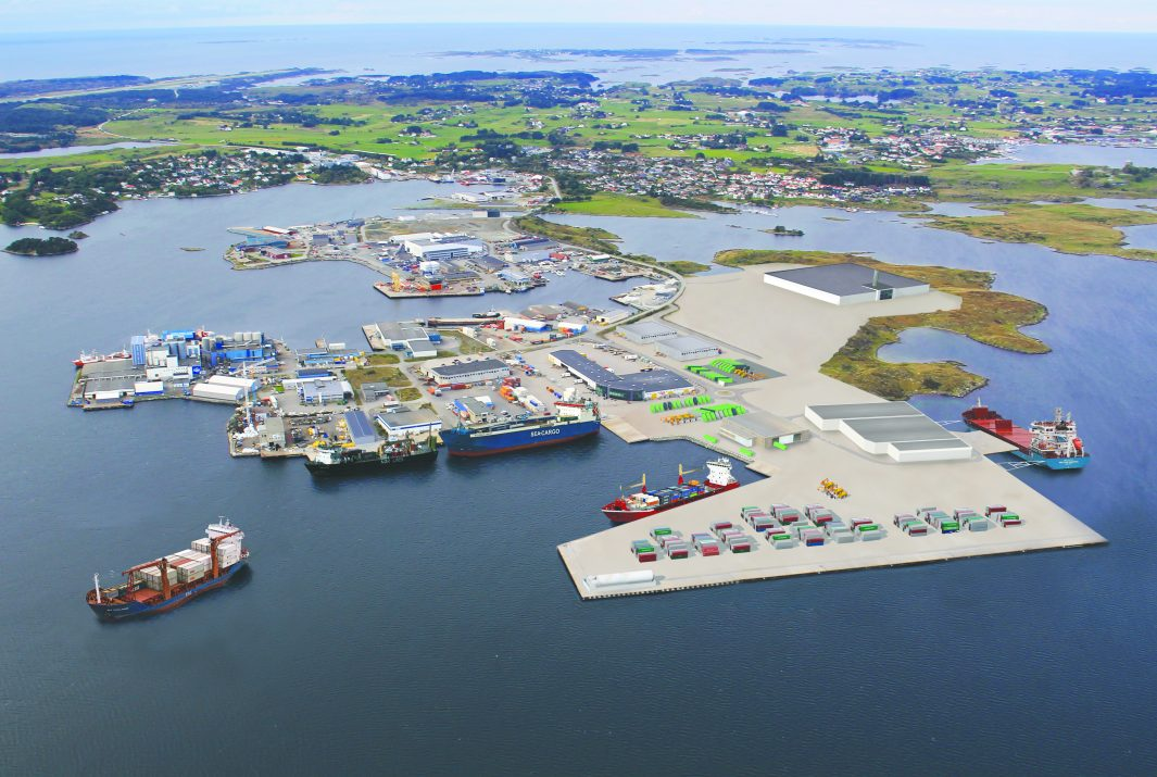 The expansion of Haugesund Cargo Terminals at Husøy is due for completion in 2020