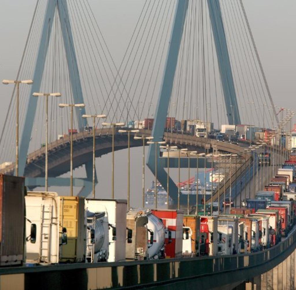 Hamburg's bridge of sighs