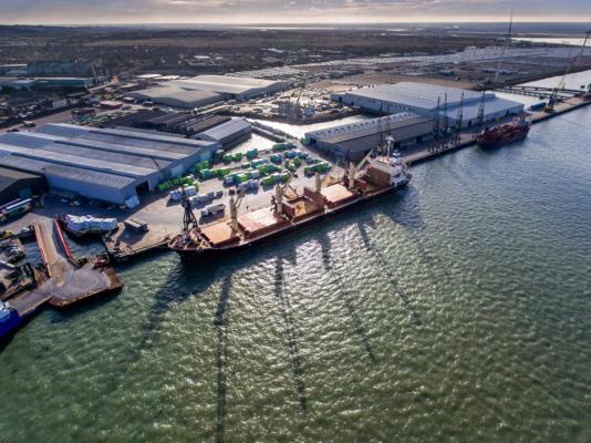 Warehousing boost for Port of Sheerness