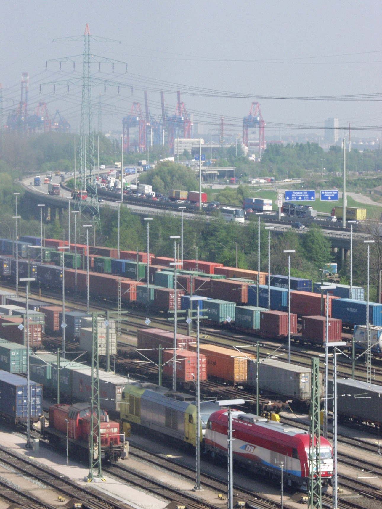Hamburg is Europe's biggest rail intermodal seaport