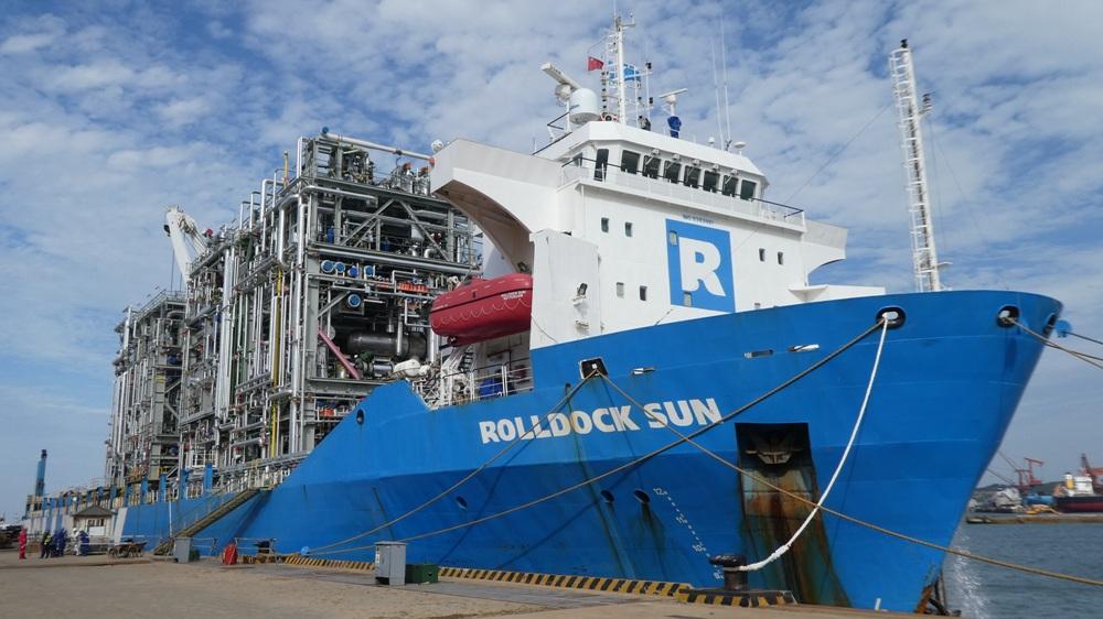 A RollDock S-class vessel