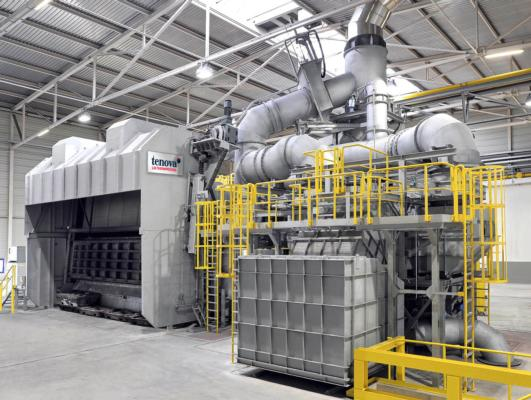 Tenova supplies large aluminium recycling furnace