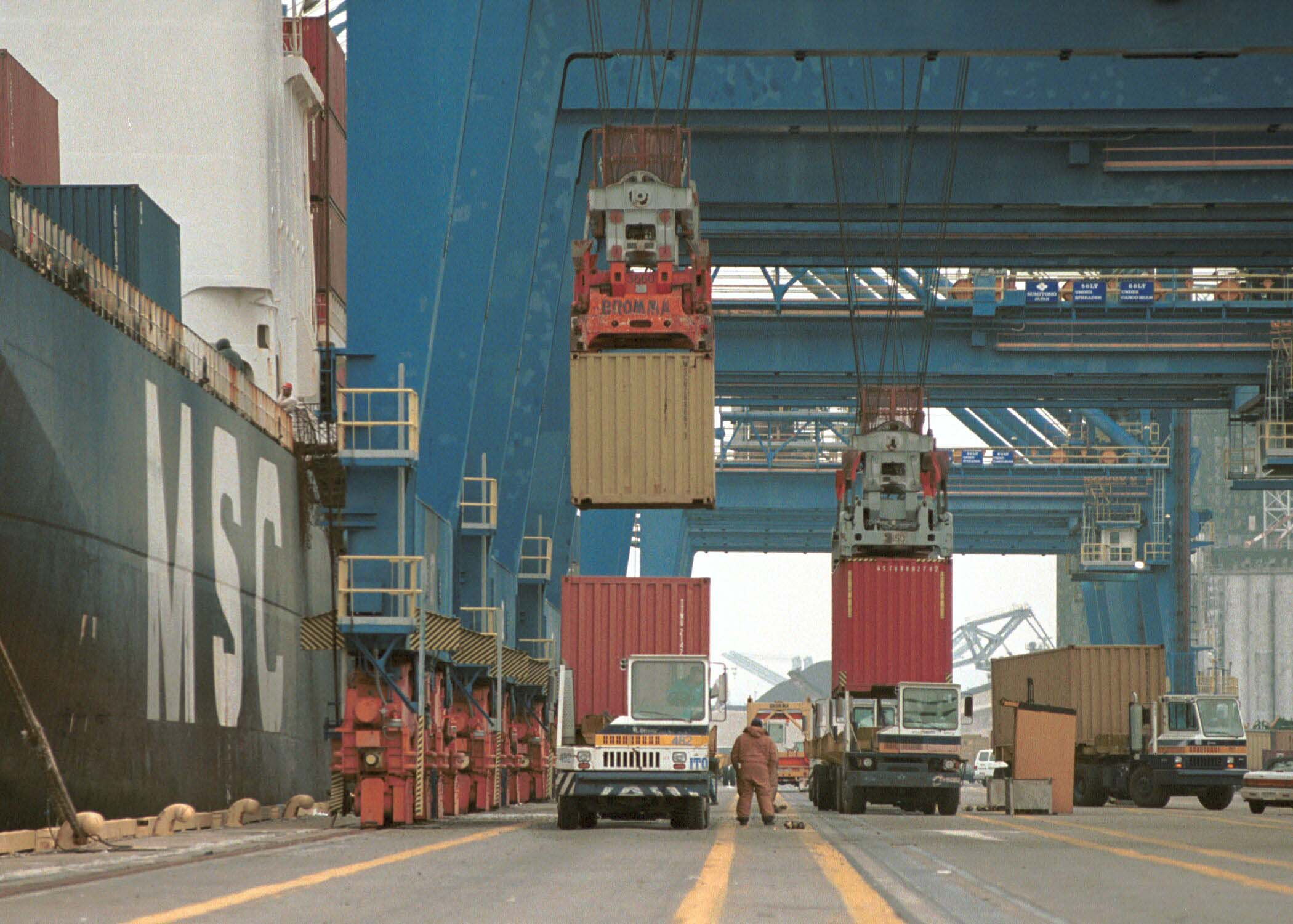 A second deepwater berth is being developed at Seagirt Marine Terminal in Baltimore