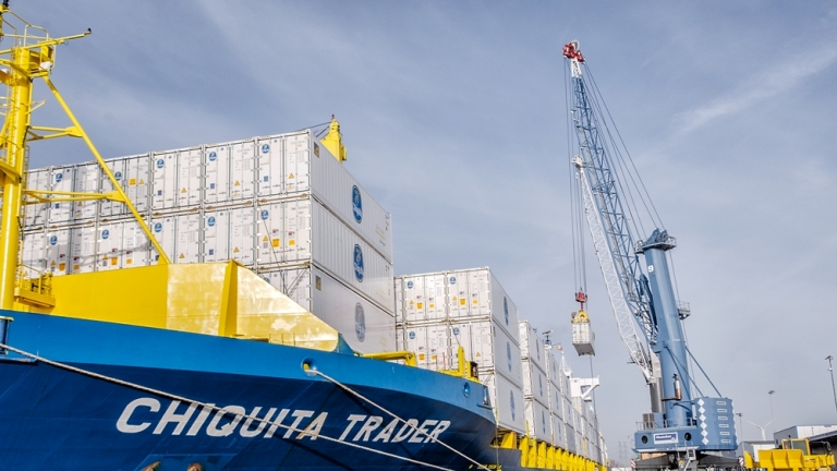 New automated container yard for Vlissingen
