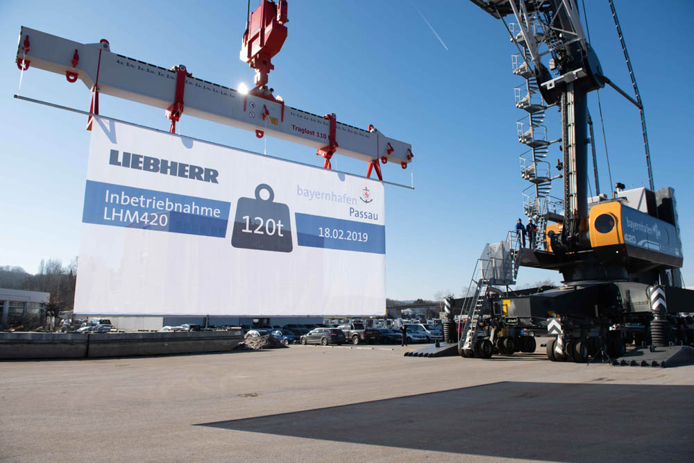 First Liebherr MHC to meet Stage V rules