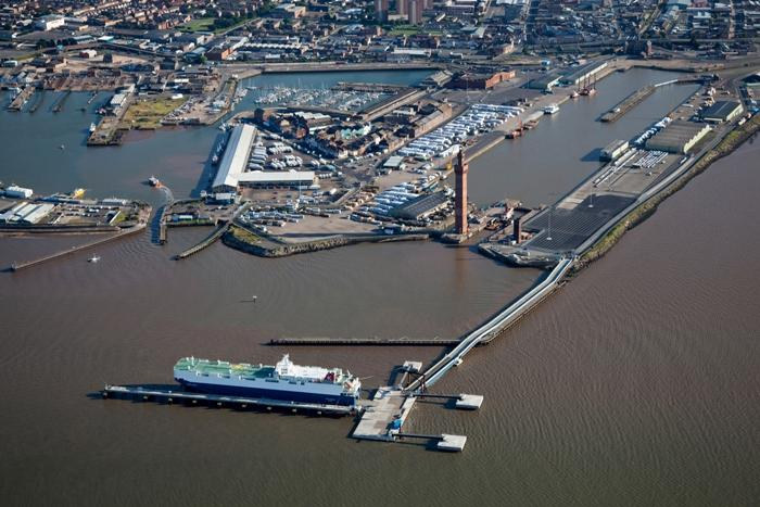 Grimsby River Terminal officially opened in 2013 after a £26M investment from ABP