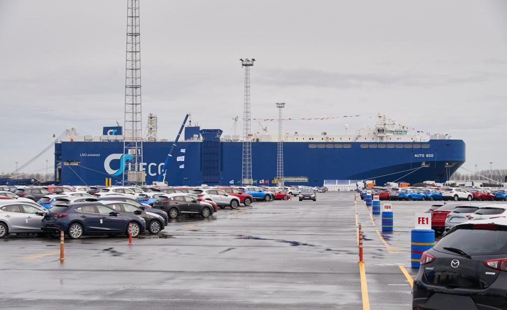 The meeting took place in the offices of ICO Terminals