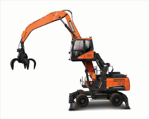 Doosan launches new materials handler
