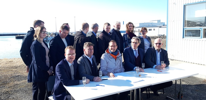 Today's (Thursday, 11th April) meeting in Iceland