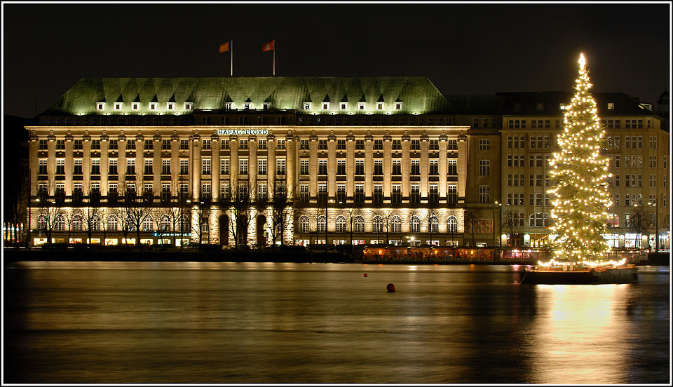 Hapag-Lloyd's famous Balindamm HQ - Kruse accused the Hamburg government of business naïvety
