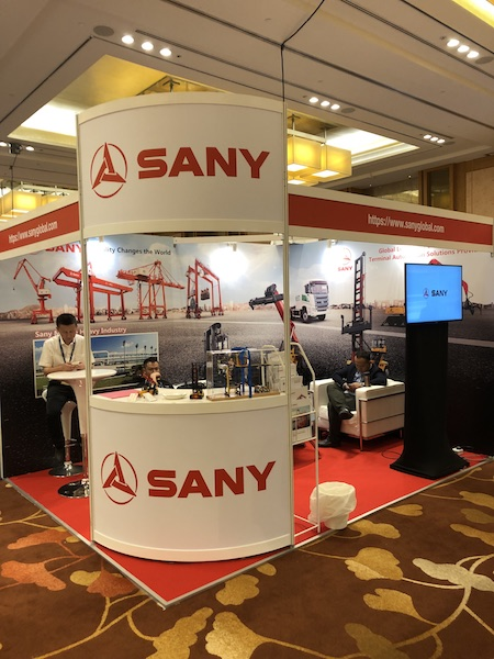 Sany launches electric equipment