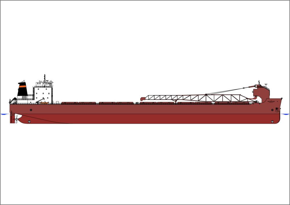 Interlake Steamship Co orders self-unloader