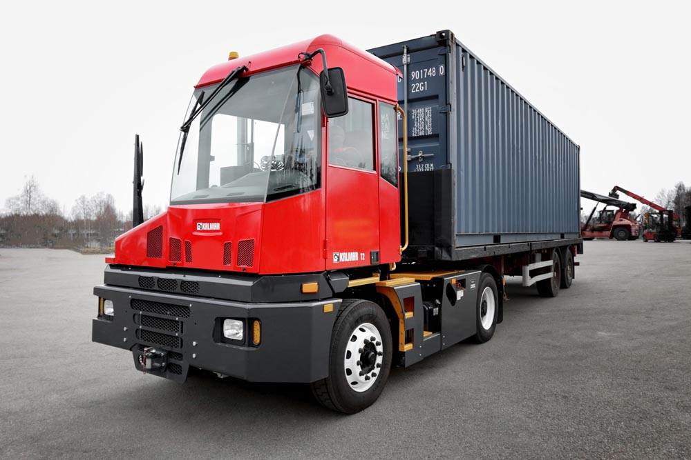 Kalmar will have an electric T2 in Europe next year