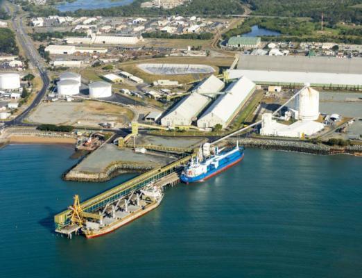 Port of Mackay makes bulk move down under