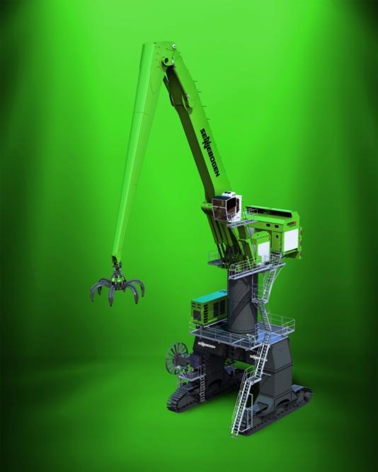 "Sennebogen launches ""world's biggest materials handler"""