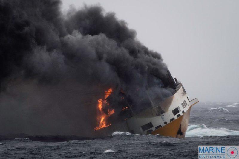 GRANDE AMERICA sank last week in the Bay of Biscay, en route to Casablanca from Germany