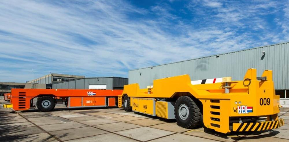 The type of automated guided vehicle that VDL Automated Vehicles has already supplied to PSA