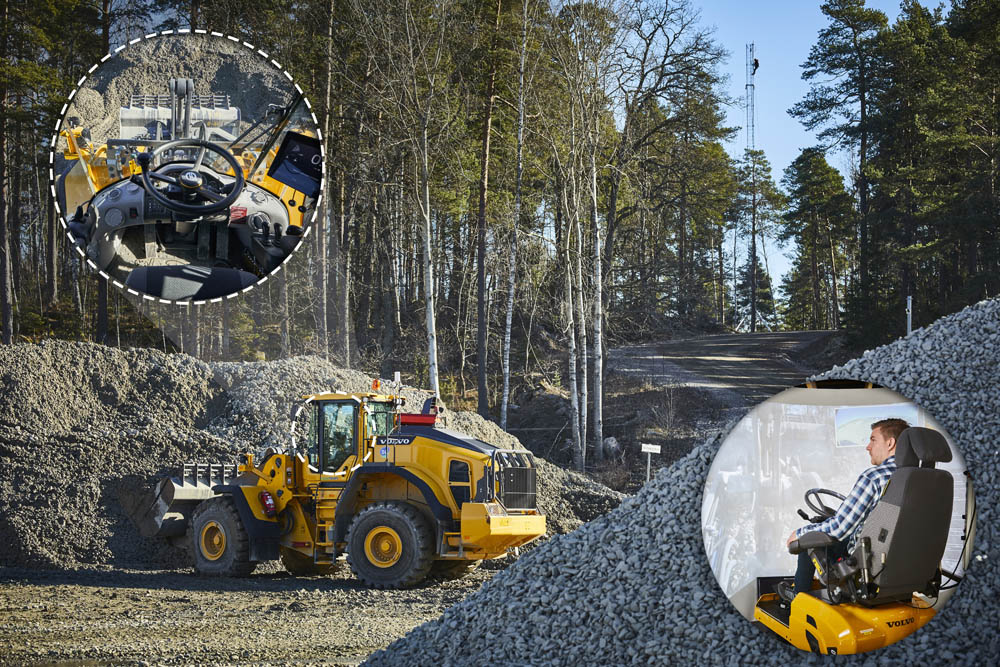 Volvo CE to test remote control wheel loaders