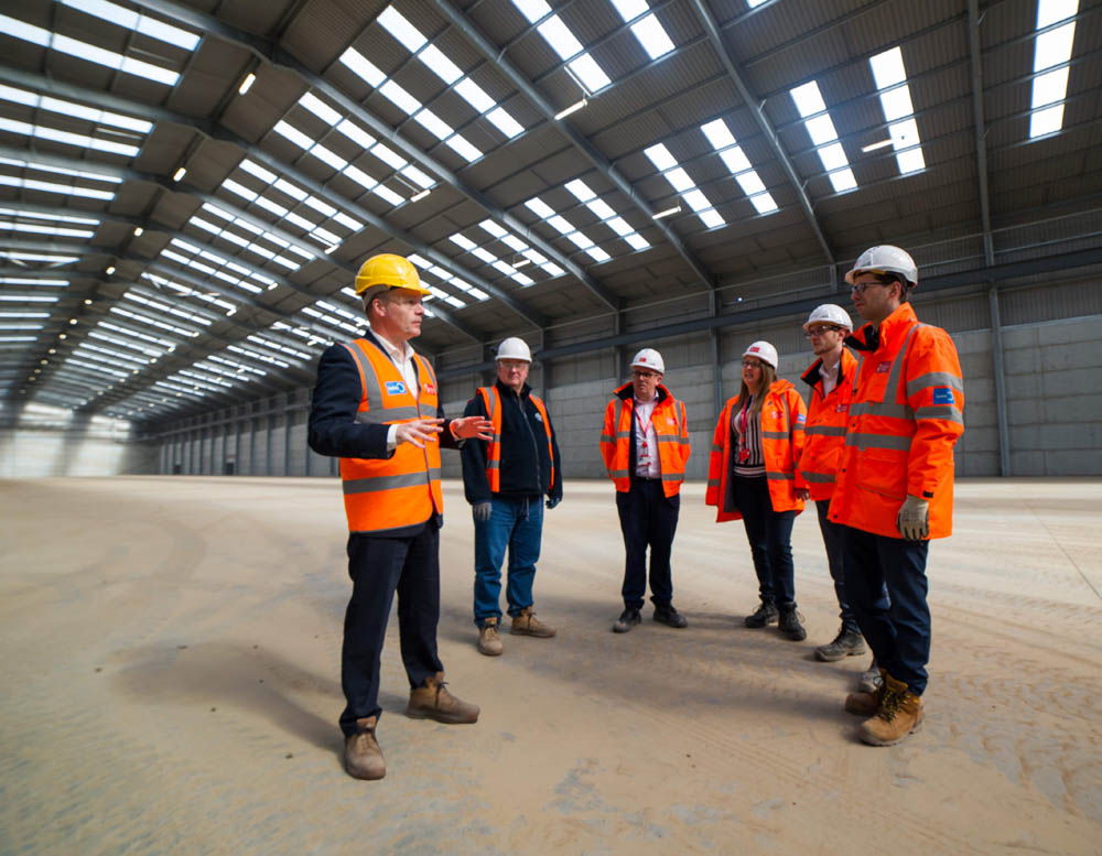 UK agriculture boosted by new Liverpool grain store