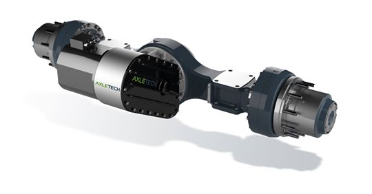 The new AxleTech AFE Series e-axle.