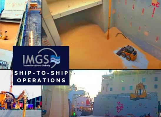 IMGS devises offshore wheat transhipment plan