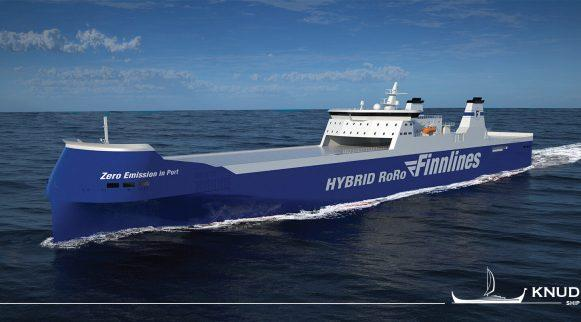 """New """"green"""" ro-ro vessels for Finnlines"""