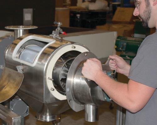 New centrifugal sifter from Munson Machinery