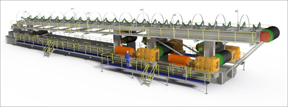 Nepean debuts relocatable conveyor system