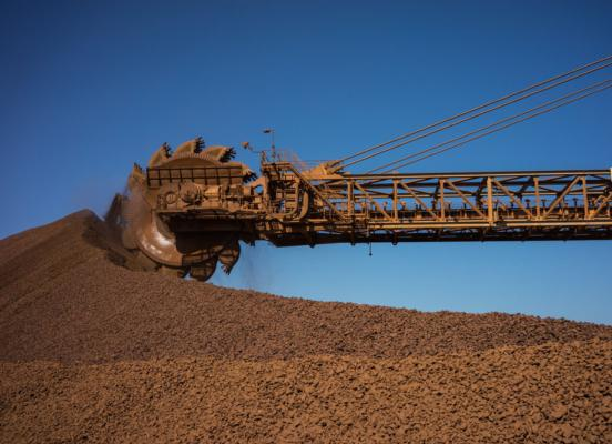 Increased iron ore sales for Rio Tinto