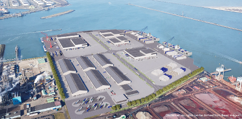 Artist's impression of the new facility. (Source: HbR)