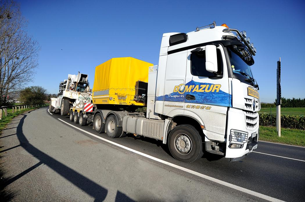WABCO has signed up French transport company Dom d'Azur to use TX-TRAILERPULSE. (Photo: La Montagne)