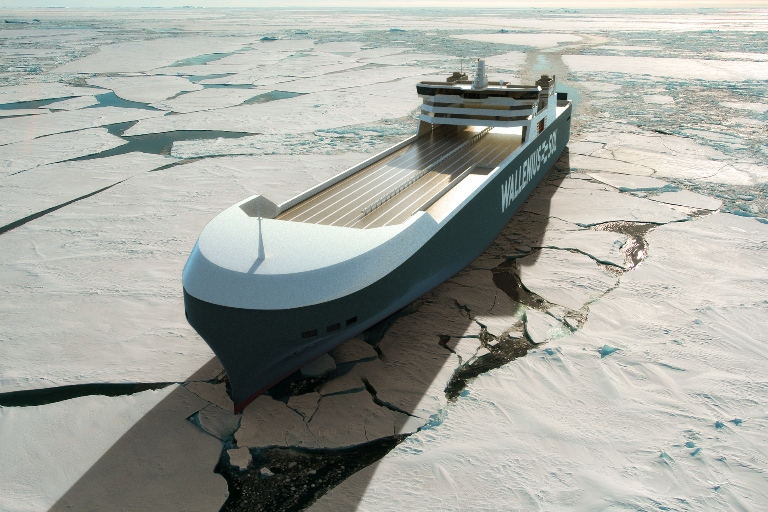 All the vessels will have Finnish/Swedish ice class 1A Super hulls