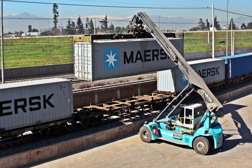 Inland shuffle for Maersk group