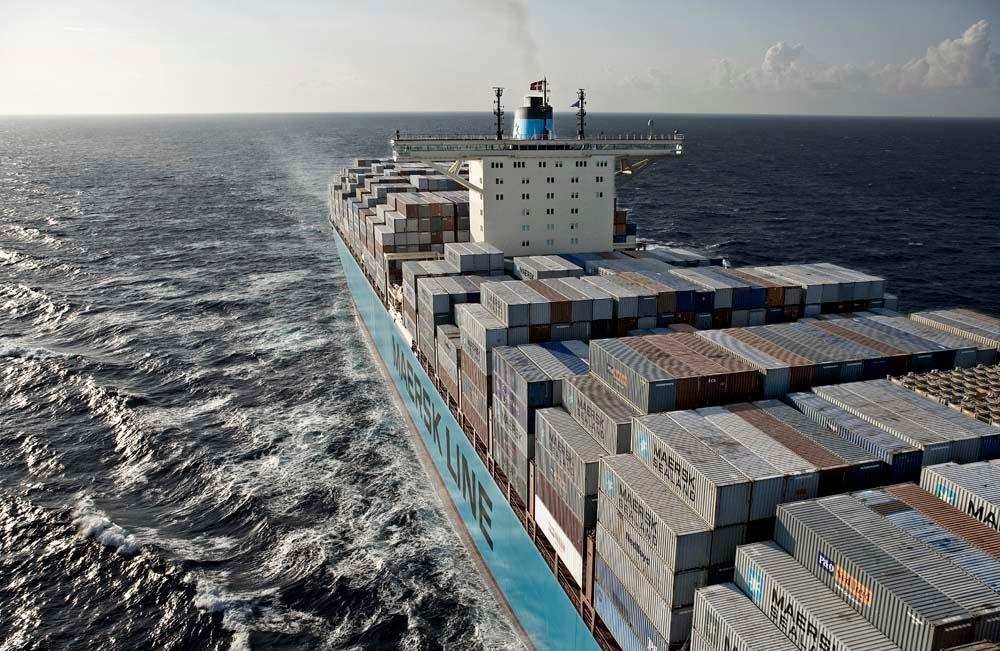 Maersk Line container volumes increased by 1.4% in Q2.