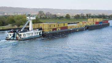 ABB for carbon-neutral river freight