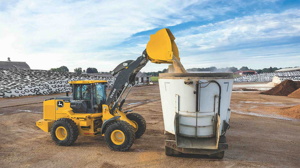 John Deere's new L-Series incorporates several new features