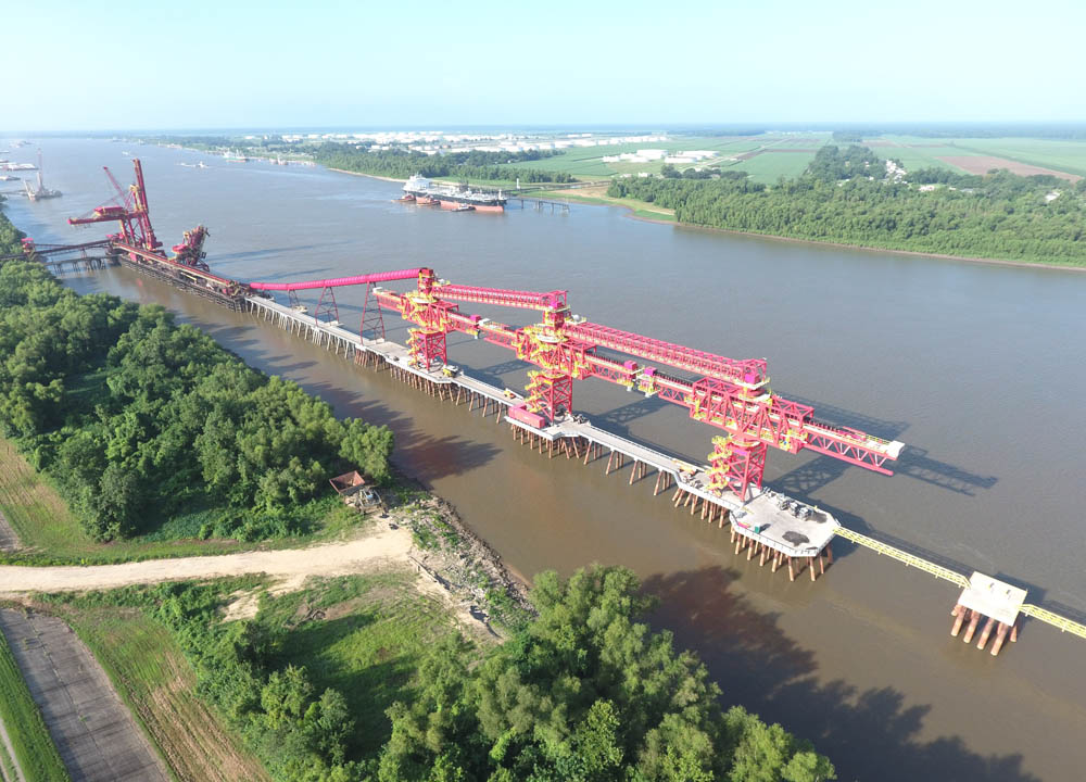 Bedeschi shiploader for Cargill in Westwego