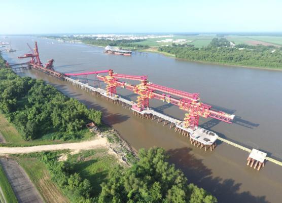 Bedeschi shiploader for Cargill in Westwego